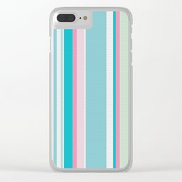 Earn Your Stripes Clear iPhone Case