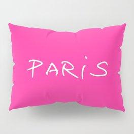 Paris 1 pink Pillow Sham