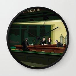 X-Hawks Wall Clock