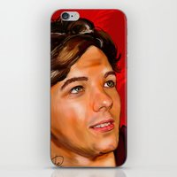 louis tomlinson iPhone & iPod Skins featuring Louis Tomlinson  by Tune In Apparel