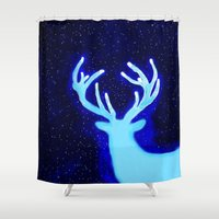 dear Shower Curtains featuring DEar  by Nancy Woland