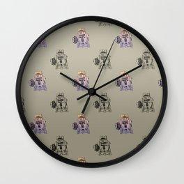 Tars in the R2D2-olive Wall Clock