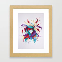 A lot things Framed Art Print