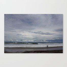 Costa Rican Surf Break Canvas Print