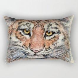Cute Tiger Cub 903 Rectangular Pillow
