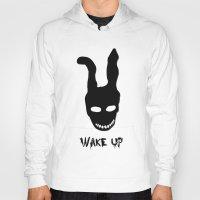 donnie darko Hoodies featuring Donnie Darko Wake Up by Grace