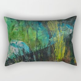 night garden Rectangular Pillow