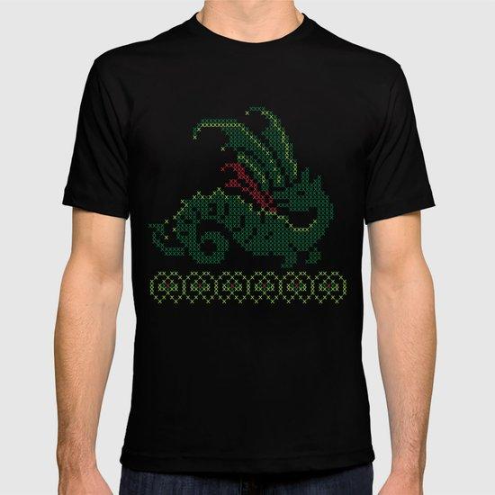 Dragon cross stitch T-shirt