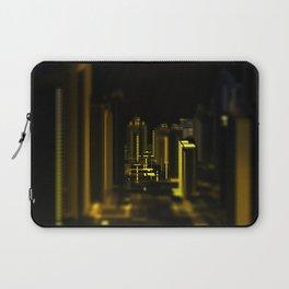 Cityscape at night Laptop Sleeve