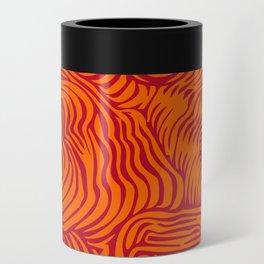 orange red flow Can Cooler
