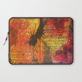Symphony In Red Laptop Sleeve