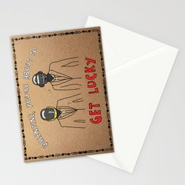 Daft Punk - Gangstergrams Stationery Cards