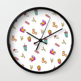 Fast Food Dreamz Wall Clock