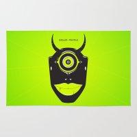 cyclops Area & Throw Rugs featuring Boiler Cyclops by JP Jordaan