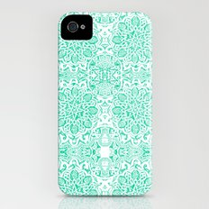 Moorish -Aqua Slim Case iPhone (4, 4s)