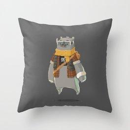 Timebear Throw Pillow