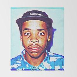 Earl Sweatshirt Throw Blanket