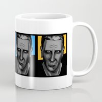 ford Mugs featuring Harrison Ford by Sabrina
