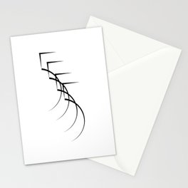 """"""" Eclipse Collection"""" - Minimal Number Five Print Stationery Cards"""