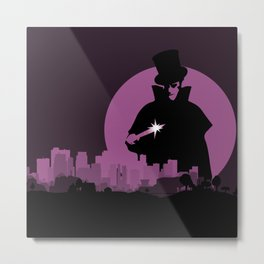 Jack Ripper's City Metal Print
