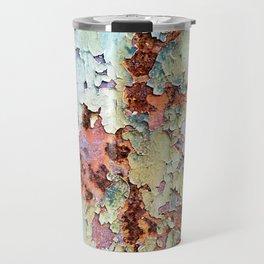 Abstract Paint Travel Mug