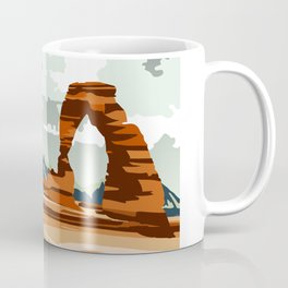 DELICATE ARCH MOAB UTAH Coffee Mug