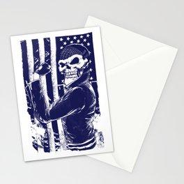 Ghost biker Stationery Cards
