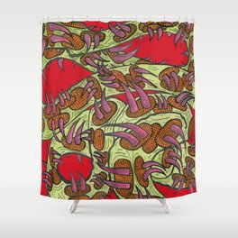 These Are The Thorns of Our Lives! Shower Curtain