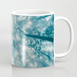 Smoky Mountain Summer Forest Teal - National Park Nature Photography Coffee Mug