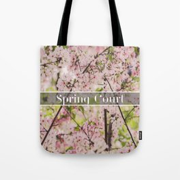 Spring Court Tote Bag