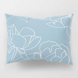 Rose on white Pillow Sham