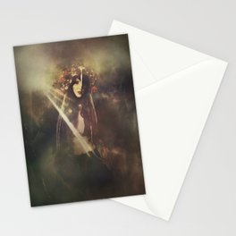 The wild huntress Stationery Cards