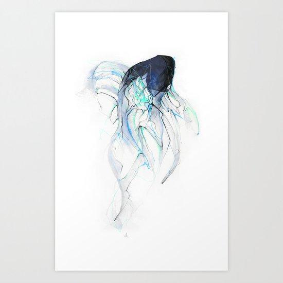Ghost Fish Art Print