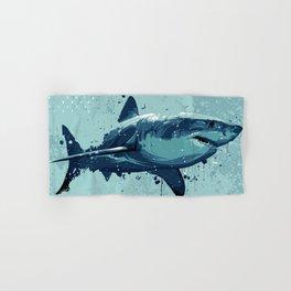 Guppy   Great White Shark Hand & Bath Towel