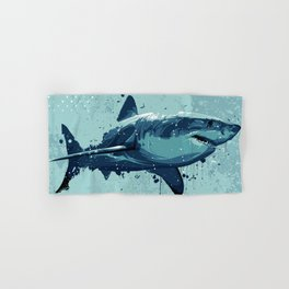 Guppy | Great White Shark Hand & Bath Towel