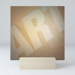 Classic Film Art Typography Mini Art Print