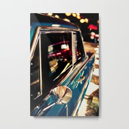 Chevy Nova SS No. 2 - Part of the Vintage Car Series Metal Print