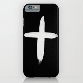 Watercolor Cross II iPhone Case