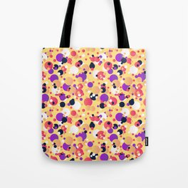Messy dots Tote Bag