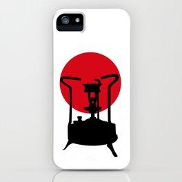 Flag of Japan | Vintage Pressure Stove iPhone Case