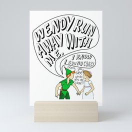 Somewhere in Neverland Mini Art Print