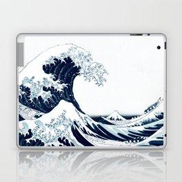 The Great Wave - Halftone Laptop & iPad Skin