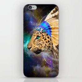 Fight For What You Love (Chief of Dreams: Leopard) Tribe Series iPhone Skin