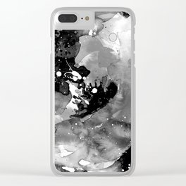 Floral Enchantment No.10b by Kathy Morton Stanion Clear iPhone Case