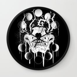 Wings of Sin Collaboration Wall Clock