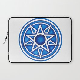 Radial Design Blue No. 3 Laptop Sleeve