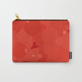 Fiesta Bubble Dot Color Accent Carry-All Pouch