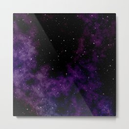 Stars in the sky nigh scene Metal Print