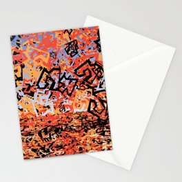 Shattering Sky Stationery Cards