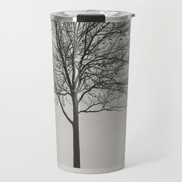 Feathered Branches Travel Mug